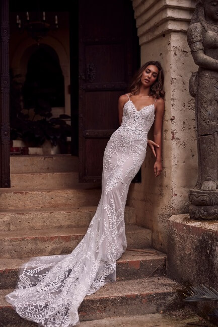 Evie Young Lace Wedding Dress