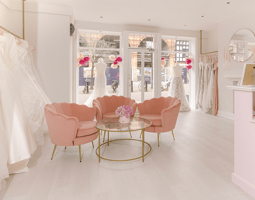 Interior photo of MFV Bridal